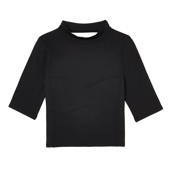 G.Sport Mock-Neck Crop Top