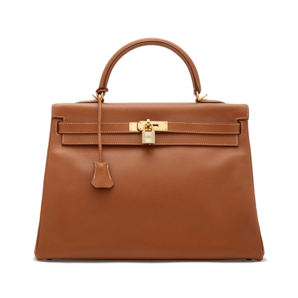 Hermès Vintage Courchevel Kelly Bag, 35cm