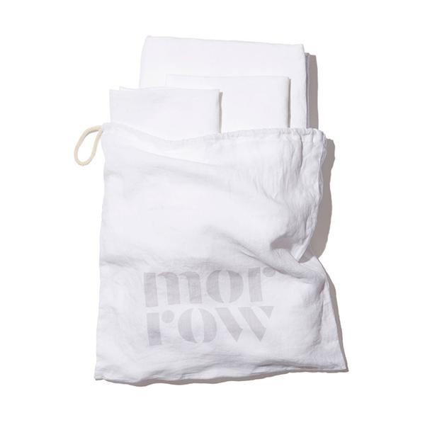Morrow Heirloom French Linen Sheet Set