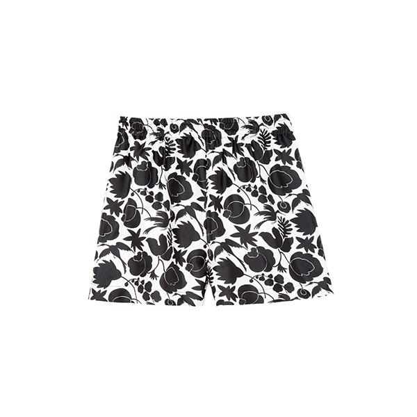 goop x La DoubleJ Boxer Silk Shorts