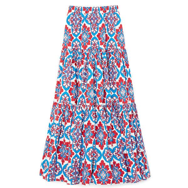 goop x La DoubleJ Big Poplin Skirt
