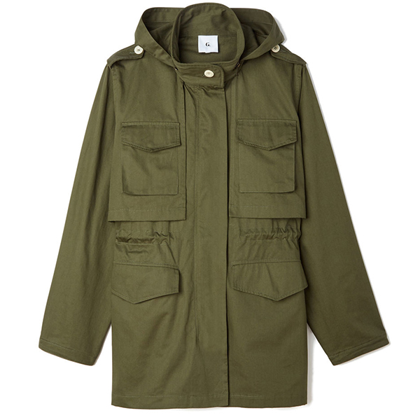olice army jacket