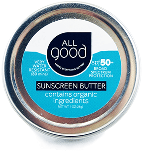 All Good Zinc Sun Butter SPF 50+