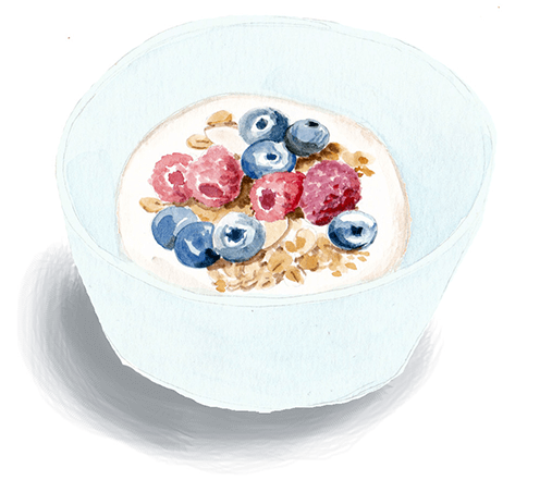 juicy berry breakfast