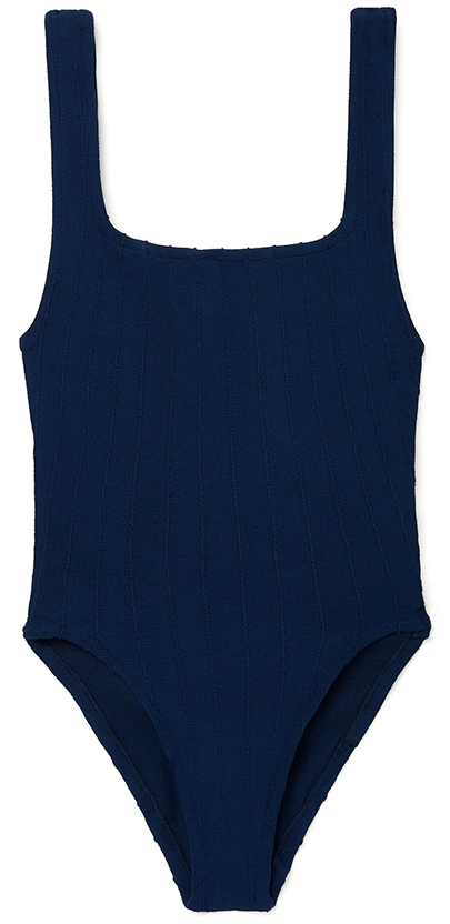 navy one piece