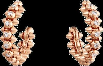 CLASH DE CARTIER EARRINGS DIAMONDS