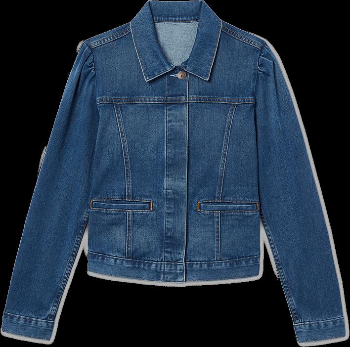 Gwyneth Paltrow with the Mathewson Denim Jacket