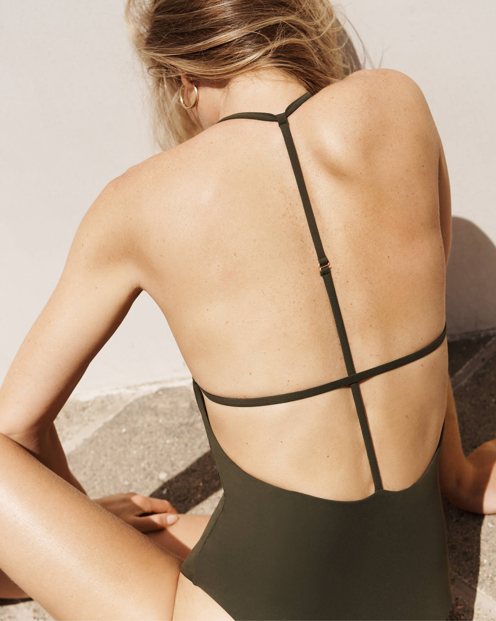 Gwyneth Paltrow with the Strappy Maillot