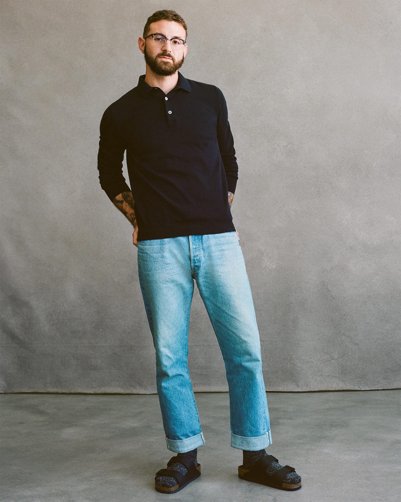 G. Label Men Jake Polo Sweater