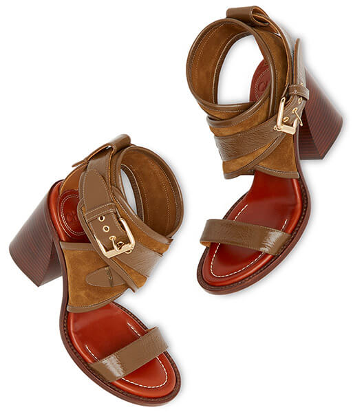 Chloé aria sandals
