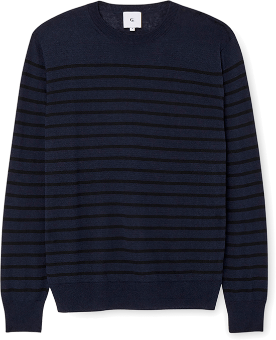 G. Label Men Tony Striped Sweater