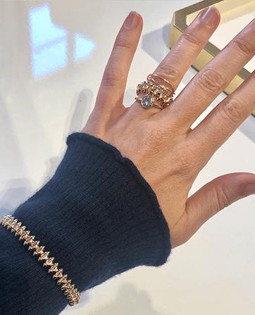 Ali Pew Engagement Ring