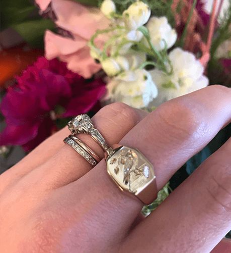 Kate Wolfson Wedding Engagement Ring
