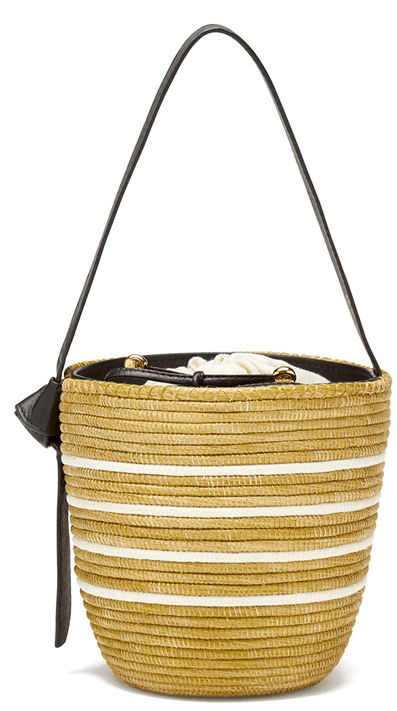 Cesta Collective Ficelle Multi Stripe Bucket Bag