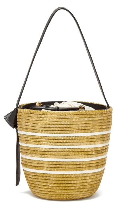 Cesta Collective Ficelle Multi Stripe Bucket Bag