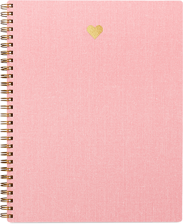 Appntd. Heart notebook