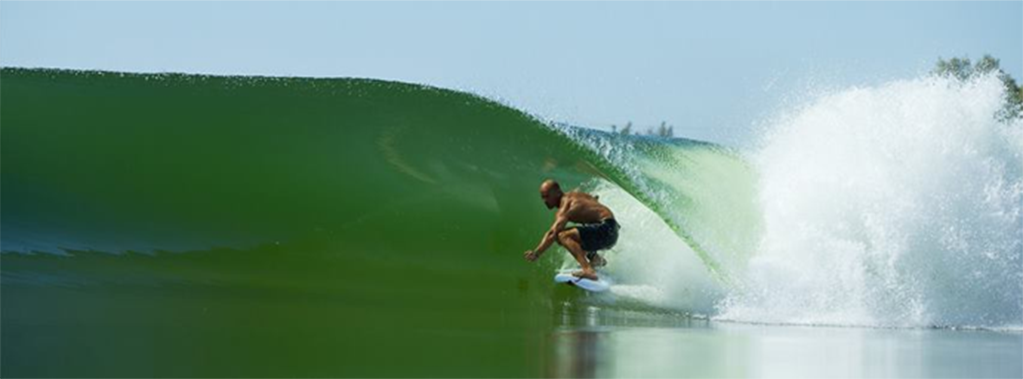 PRO SURFER KELLY SLATER'S WSL SURF RANCH IN LEMOORE, CALIFORNIA