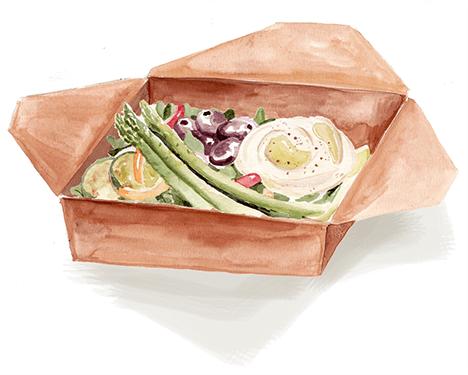 Mezze Style lunch