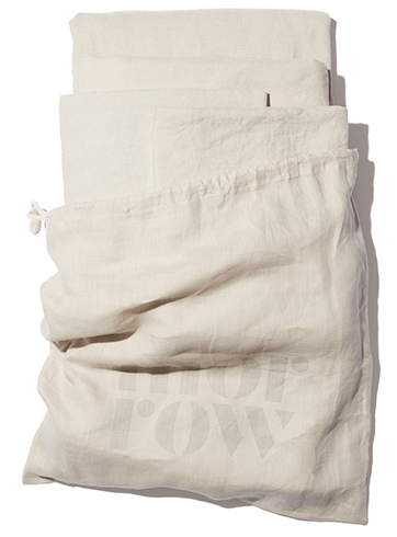 Morrow HEIRLOOM FRENCH LINEN SHEET SET
