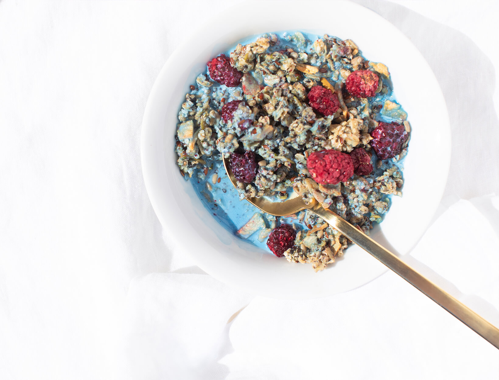 Superseed Muesli with Blue Lavender Mylk