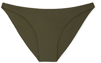 olive low rise briefs