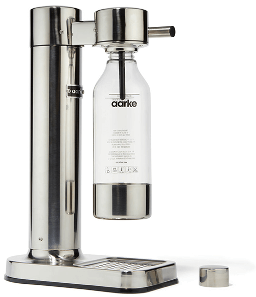 Aarke stainless steel sparkling water maker