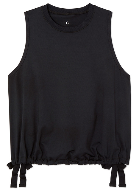 G.Sport Mesh Tank With Side Slits