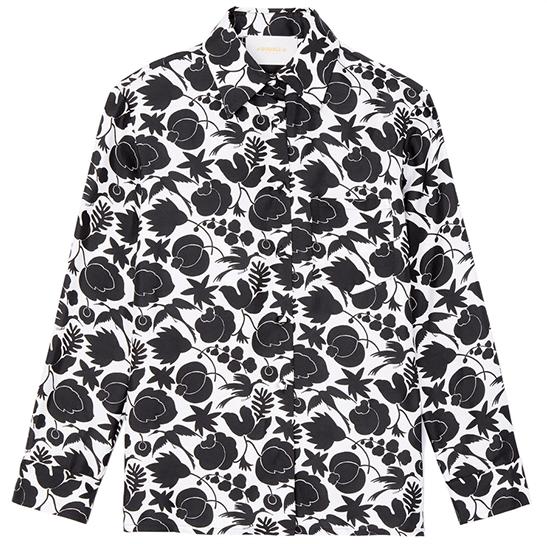 goop x La DoubleJ Boy Silk Shirt