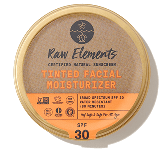 Raw Elements Tinted Facial Moisturizer SPF 30