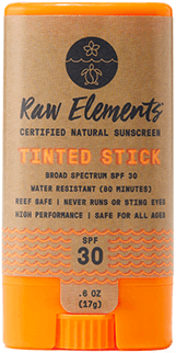 Raw Elements Tinted Stick SPF 30