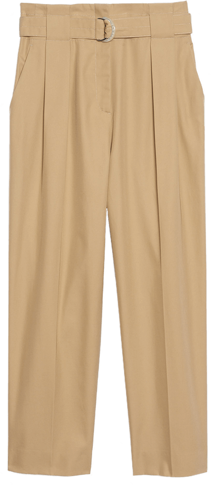 Sandro High-Waisted Pants