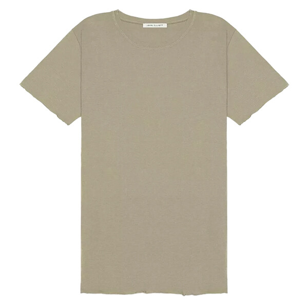 Light brown short sleeve men's casual t-shirt