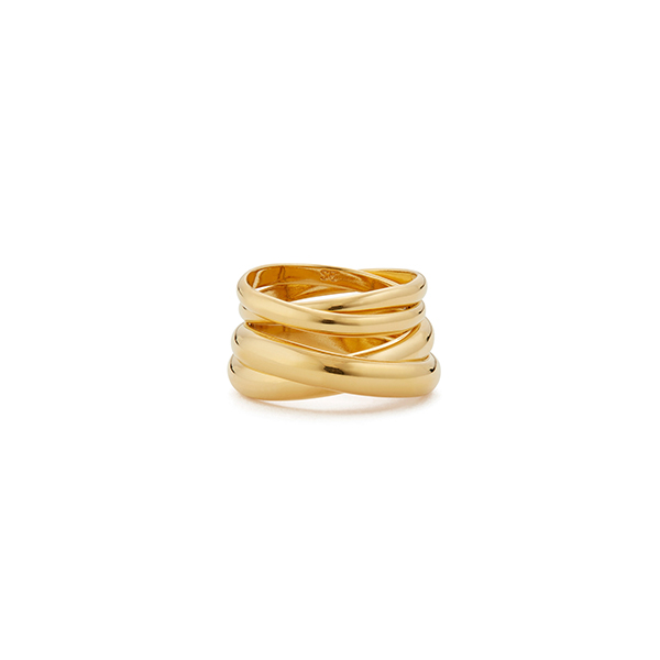 Sophie Buhai Stacking Double Circle Rings