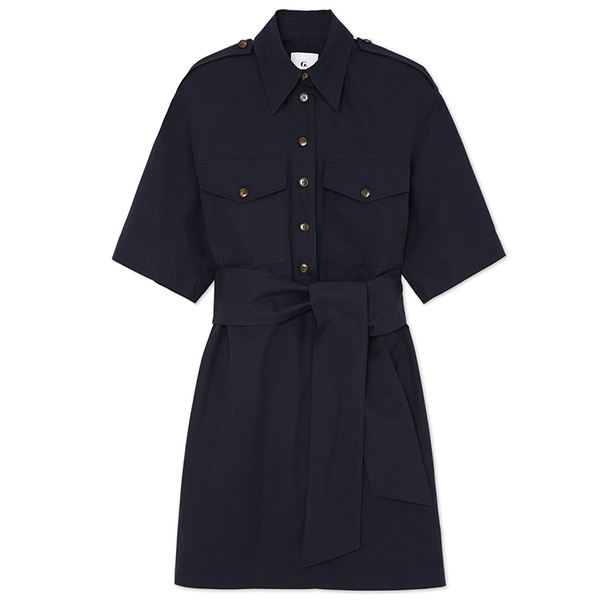 G. Label Roxanne Utility Boxy Shirtdress