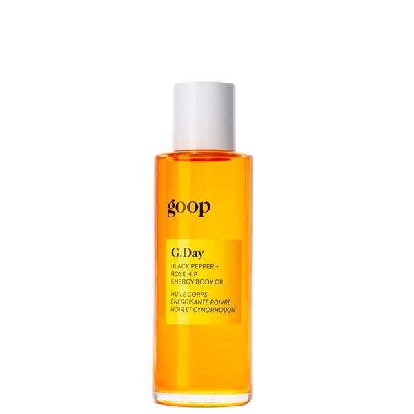 G.Day Black Pepper + Rose Hip Energy Body Oil