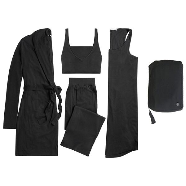 Skin 4-Piece Travel Set with Zip Bag