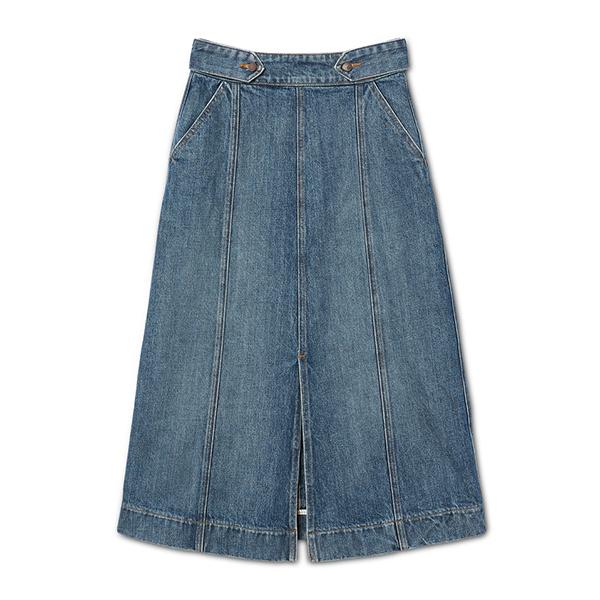 G. Label Core Greer A-Line Mid-Length Skirt