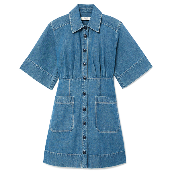 Sea Shirt Dress