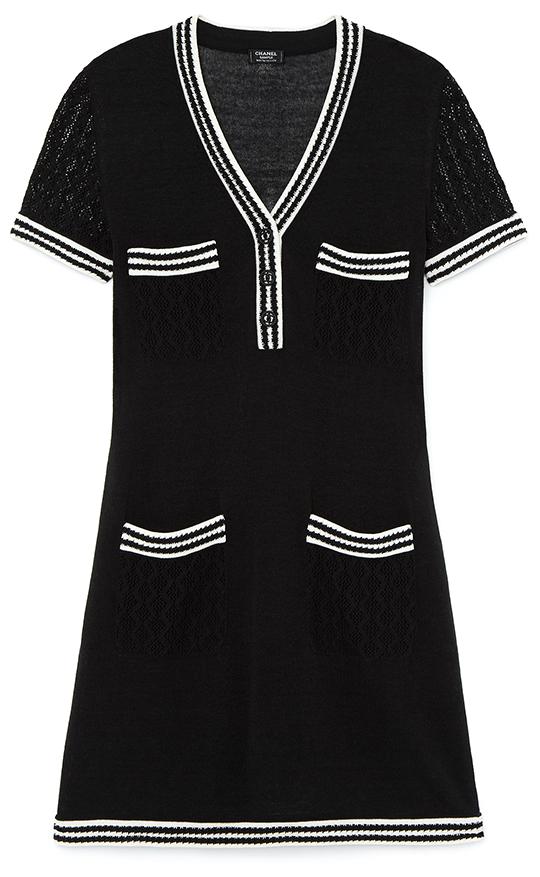 CHANEL white dress