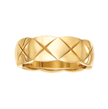 CHANEL small gold ring