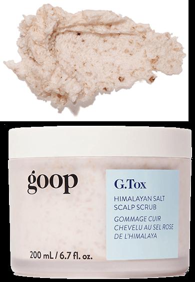 goop Beauty G.Tox Himalayan Salt Scalp Scrub