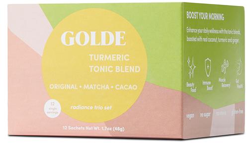 Golde Radiance Trio Set
