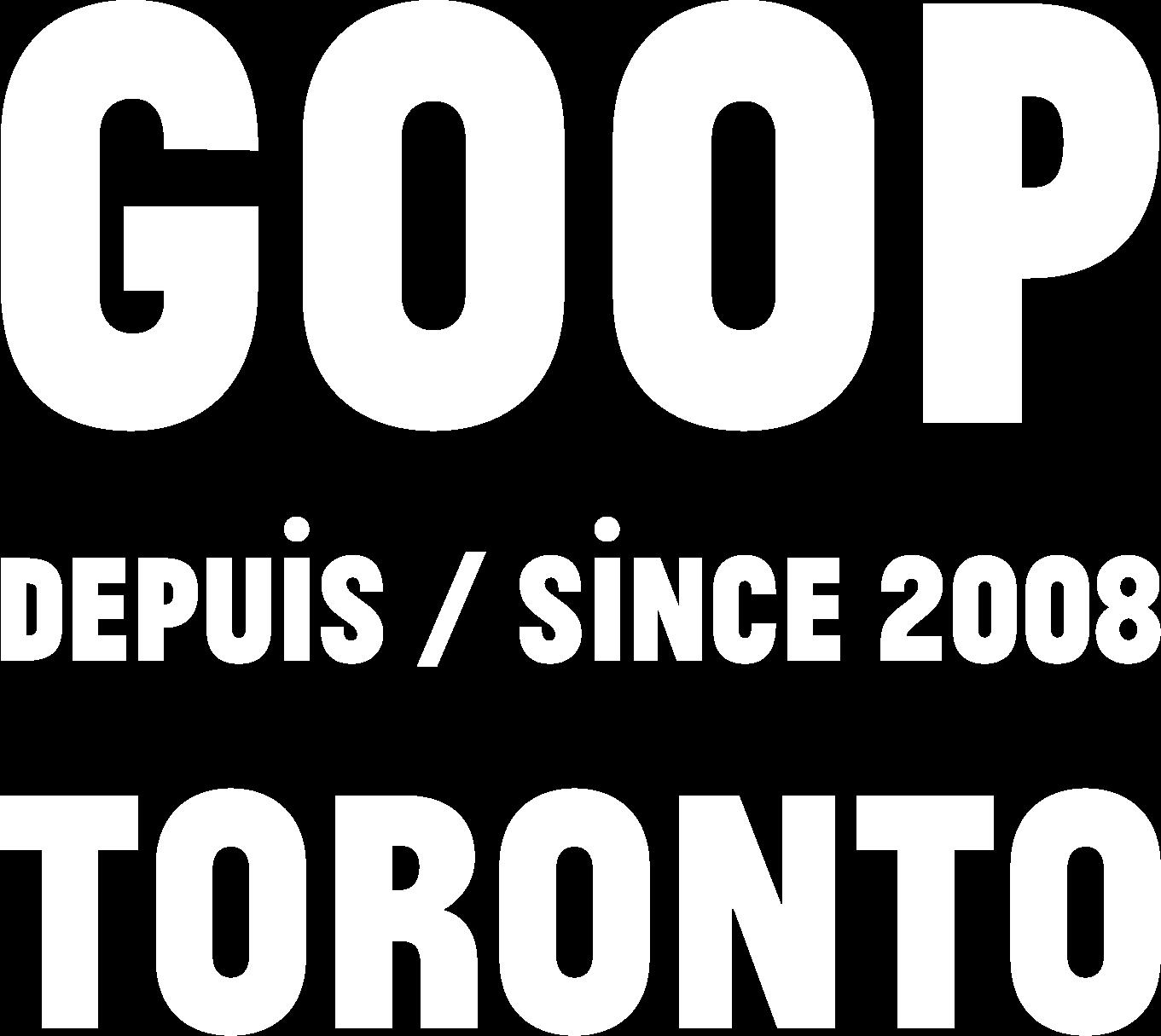 goop MRKT Toronto Programming Calendar