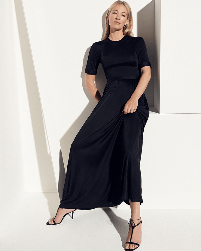 Nina Crewneck Dress