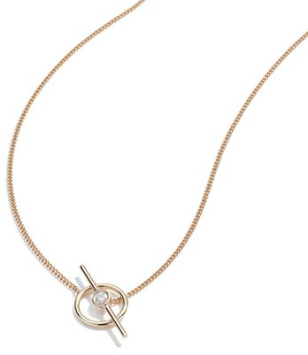 Ariel Gordon x goop Axis Wrap Chain Necklace