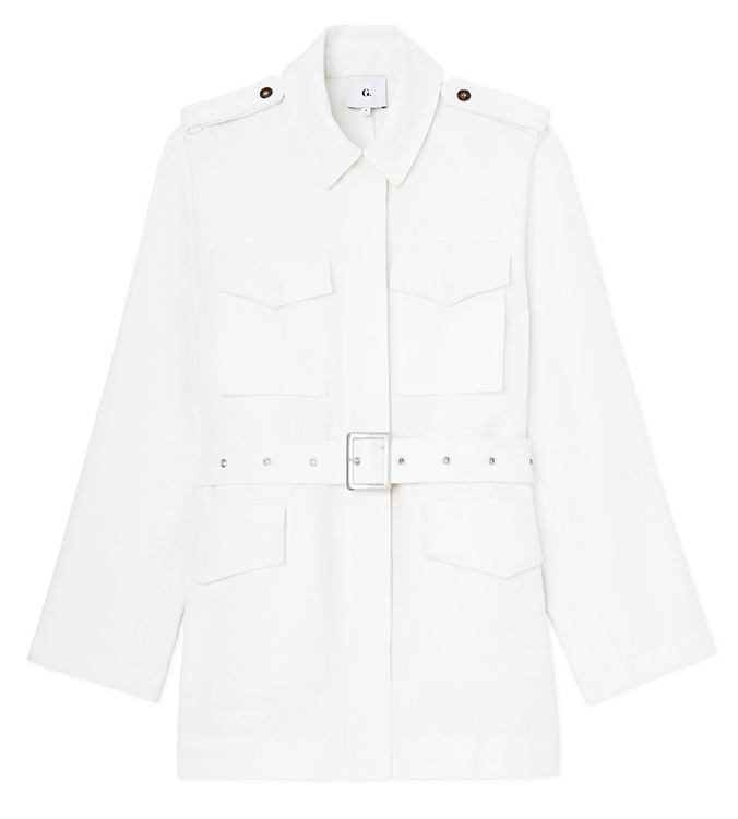G. Label Nick Belted Cargo Jacket