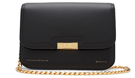 black chain bag