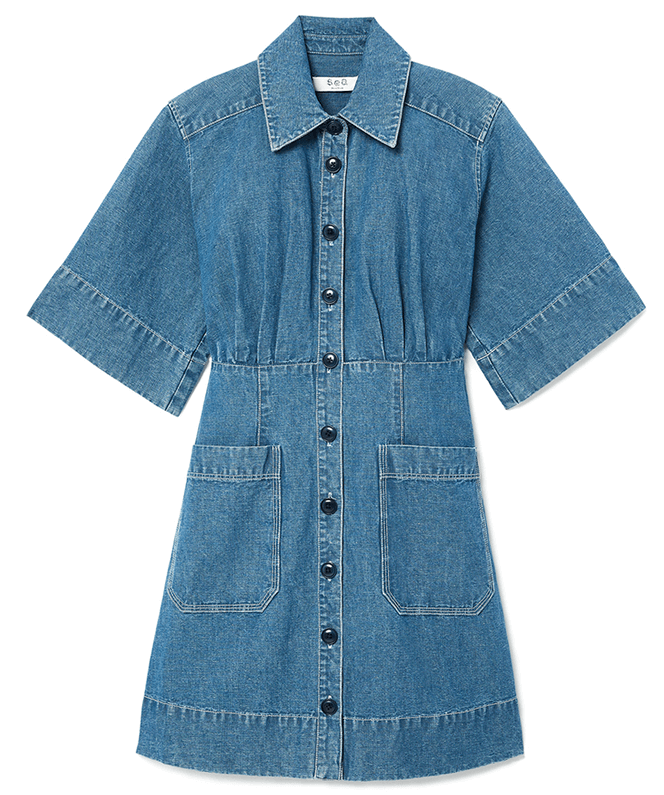 Sea Shirt Dress