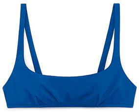 Navy bikini top