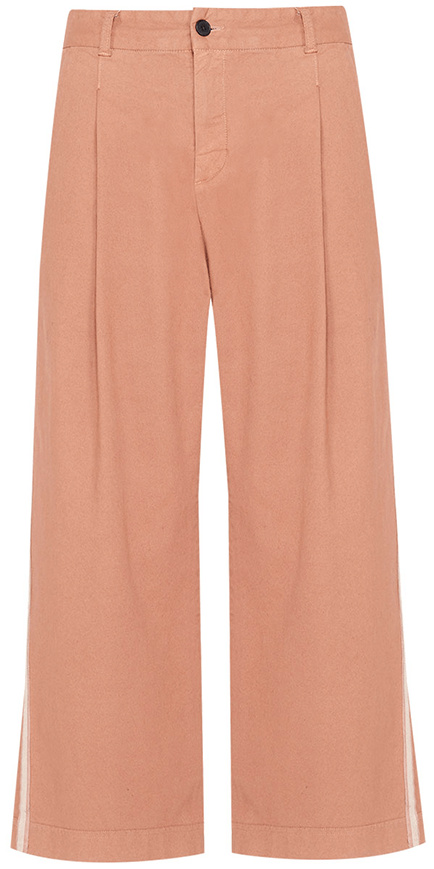 Veronica Beard Ryder Pleat Front Pant with Tux